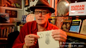 David J Haskins, formerly of the post-punk/gothic rock bands Bauhaus and Love And Rockets, now author of WHO KILLED MISTER MOONLIGHT?, on Reviewer TV.
