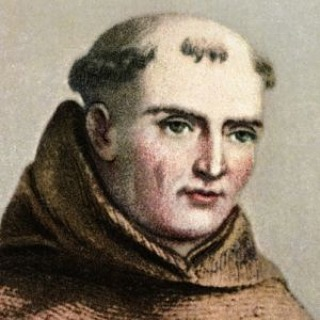 Father Serra may not have liked the hokus pokus but he sported a stylin doo.
