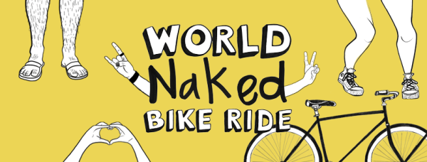 World Naked Bike Ride PDX 2016
