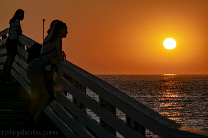 Pacific Beach magicland sunset 9-30-20.