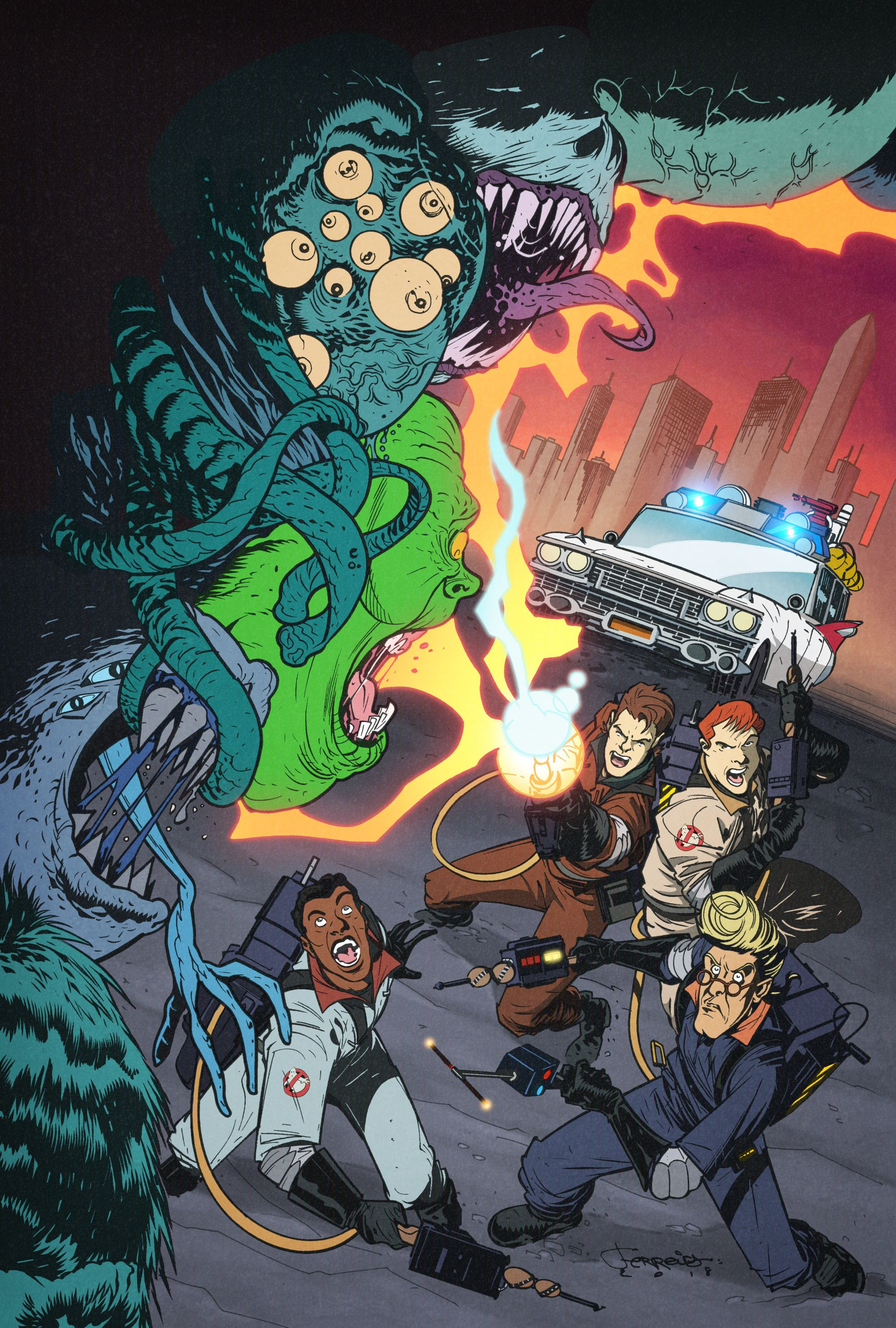 Idw Celebrates The Ghostbusters 35th Anniversary With Weekly Comic