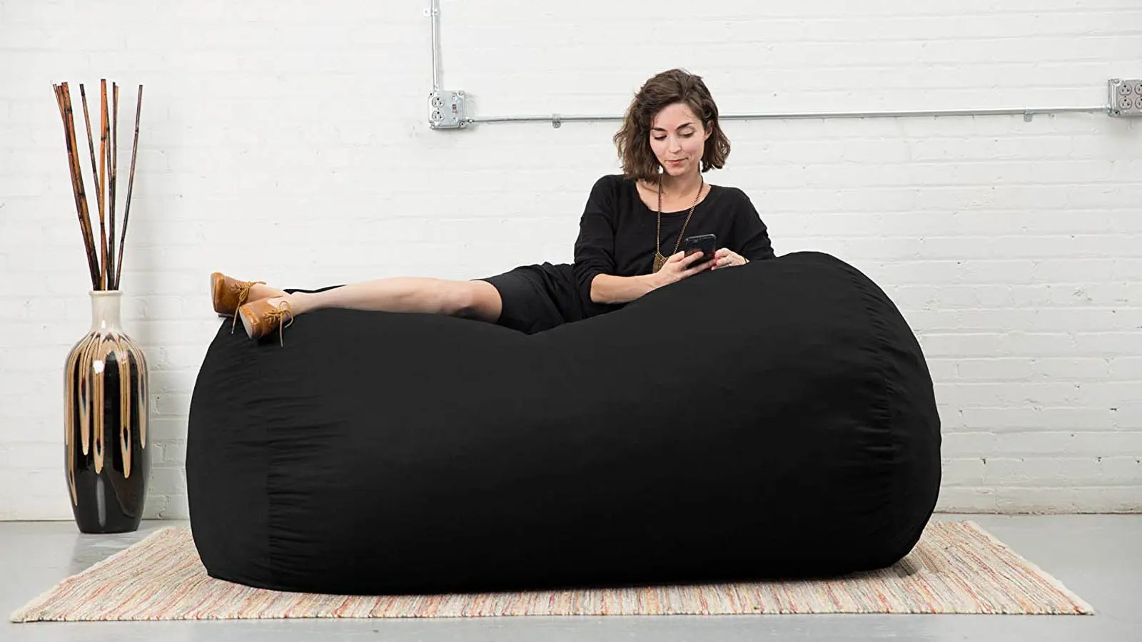 Bean Bags Chair The Best Large Bean Bag Chairs For Your Rec Room Dorm Room And