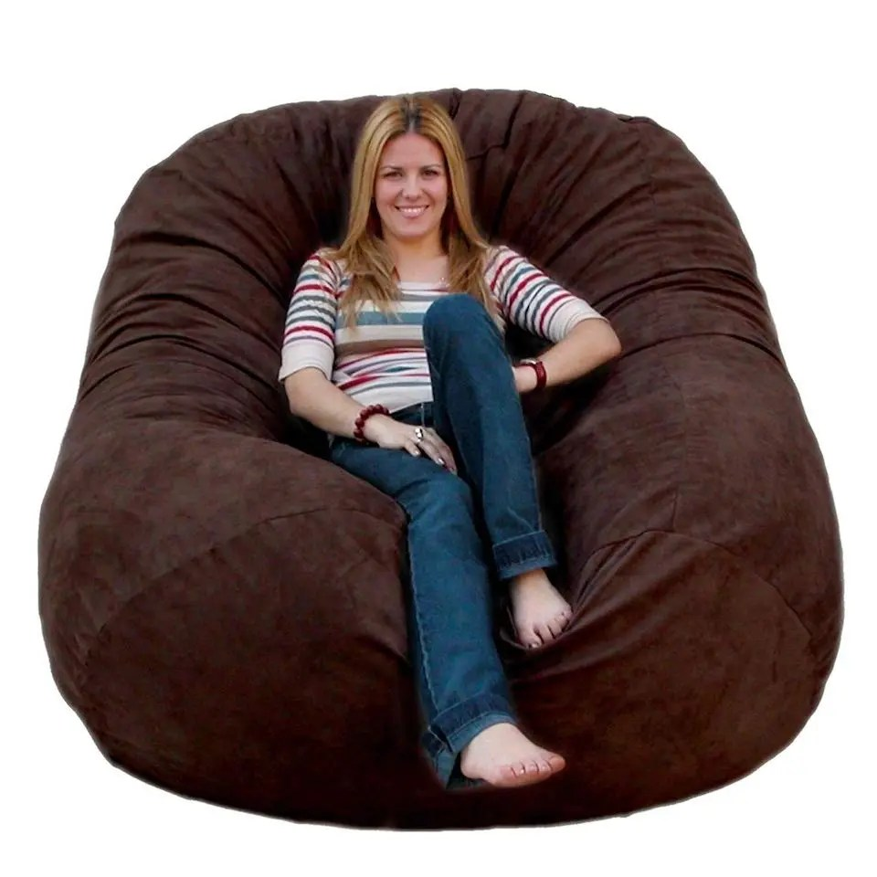 Giant Pillow Chair The Best Large Bean Bag Chairs For Your Rec Room Dorm Room And