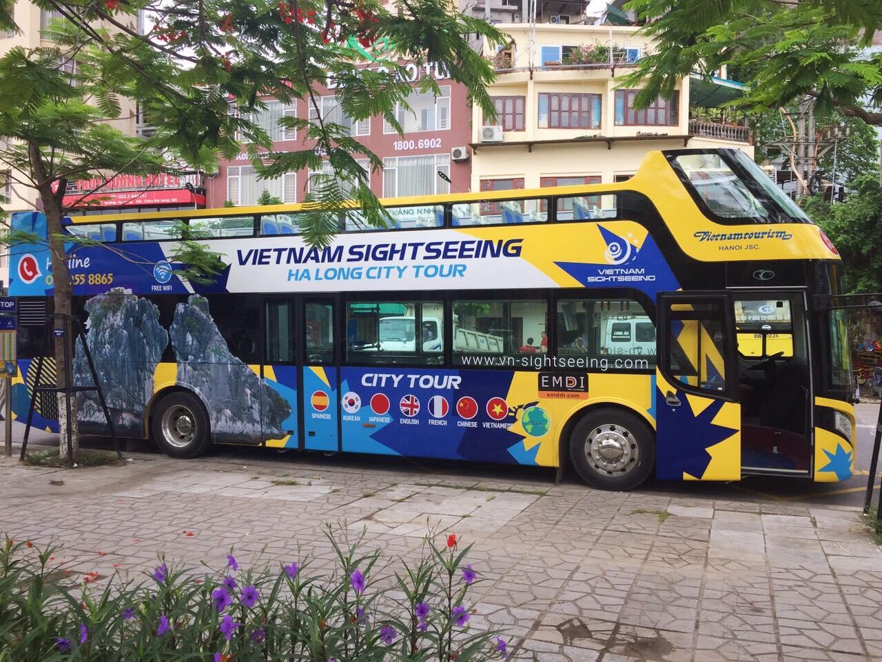 Thông tin chi tiết tuyến bus 2 tầng Hạ Long