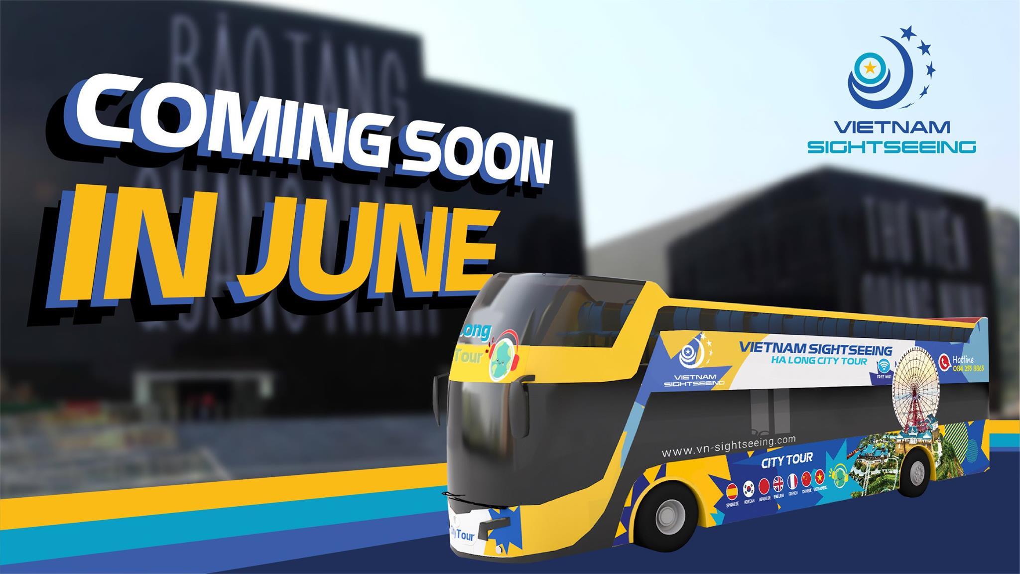 Xe bus 2 tầng ở Hạ Long dự kiến hoạt động từ 15/6