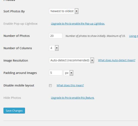 Displaying Instagram Photos On WordPress Site 4