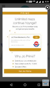 Jio Prime Plans