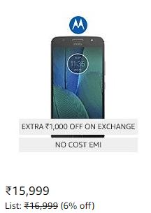 Amazon Great Indian Festival Sale - Moto G5s Plus