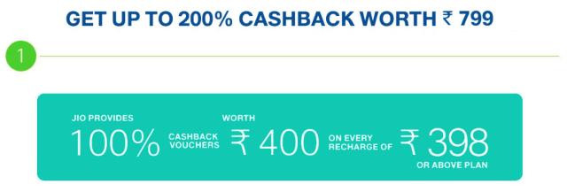 200% cashback offer