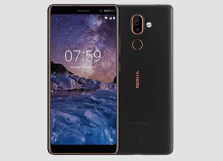 Nokia 7 Plus - Black