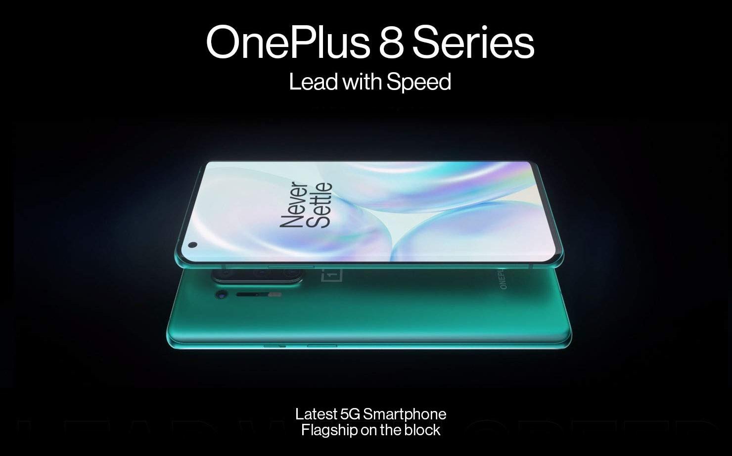 OnePlus 8 Series Prices