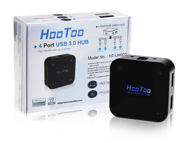 HooToo 4 Port USB 3 Hub Review