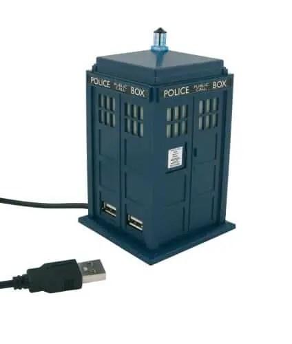 Doctor Who Tardis USB Hub Review