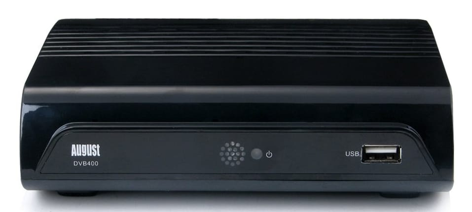 August DVB400 HD Freeview Set Top Box Review
