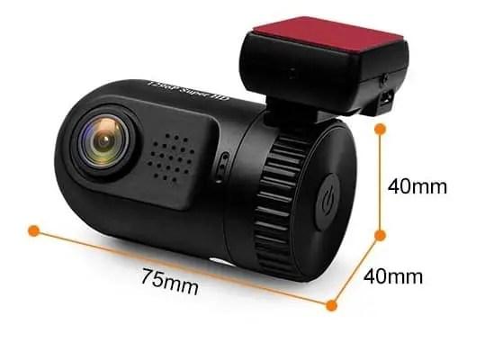 Mini 0805 Car Camera Review