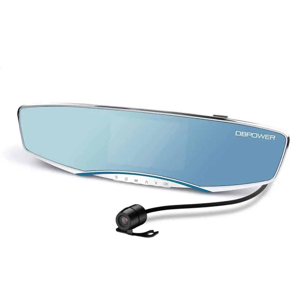DBPOWER 1080P Dual-lens Car Camera DVR Review