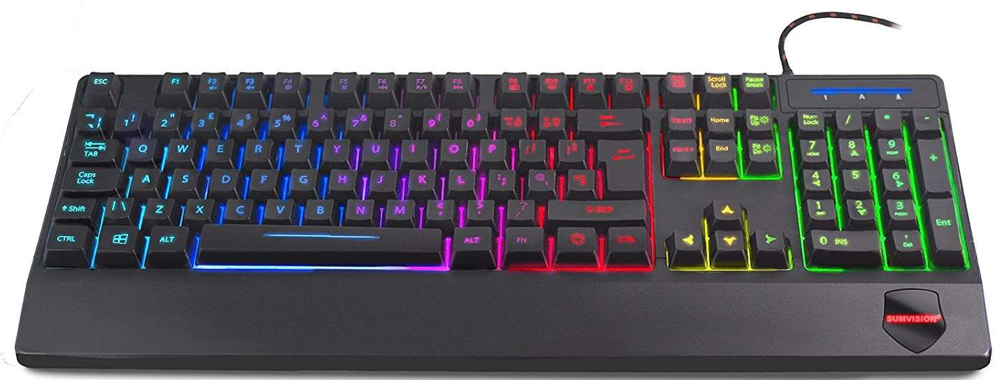Sumvision Sonic Wave LED Illuminated Keyboard Review