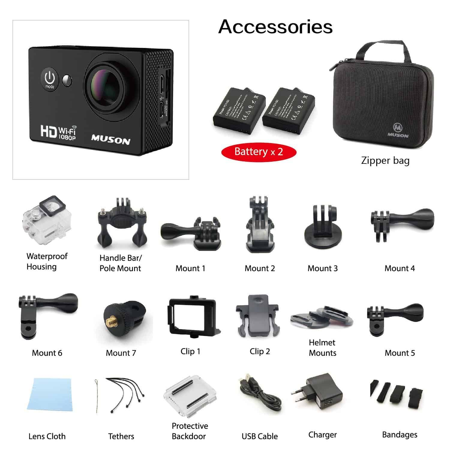 Muson MC1 Action Camera Review