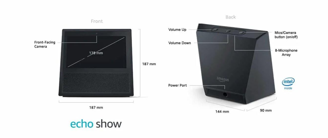 Echo Show Specs