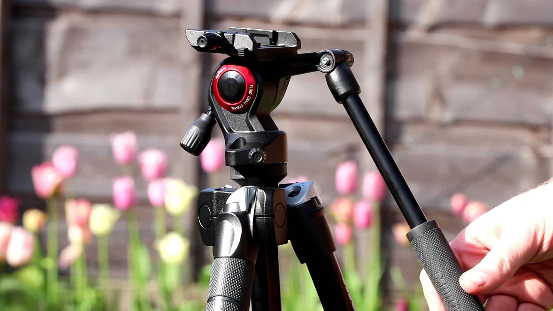 Manfrotto BeFree Tripod with Fluid Head Review