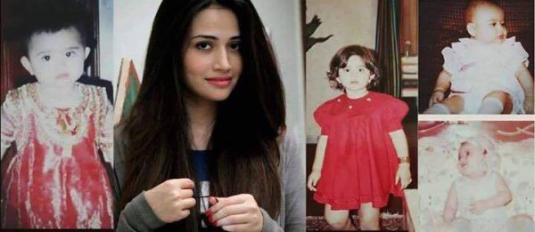 Image result for sana javed shared childhood picture