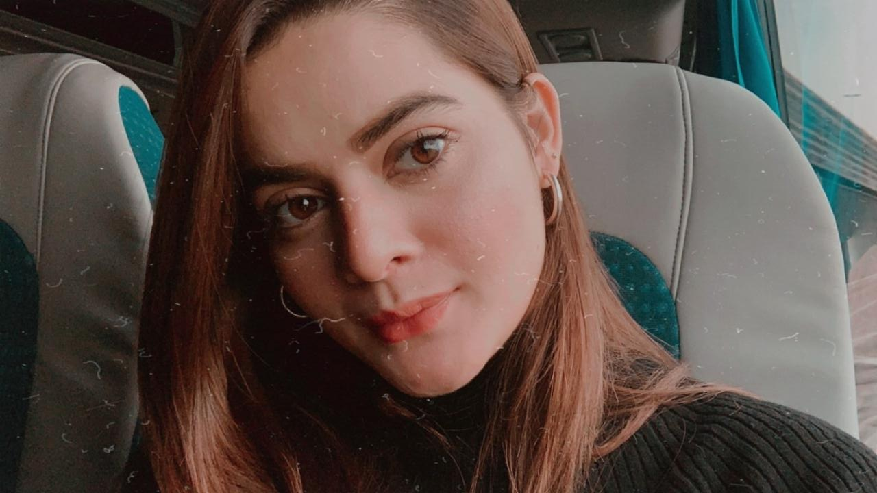 Latest Beautiful Clicks of Minal Khan from Her Trip to Amsterdam