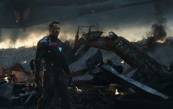 """Shot from the movie """"Avengers: Final"""""""
