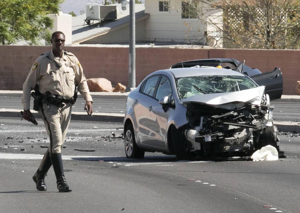 Fatal Crash Closes Altabuffalo Intersection  Las Vegas