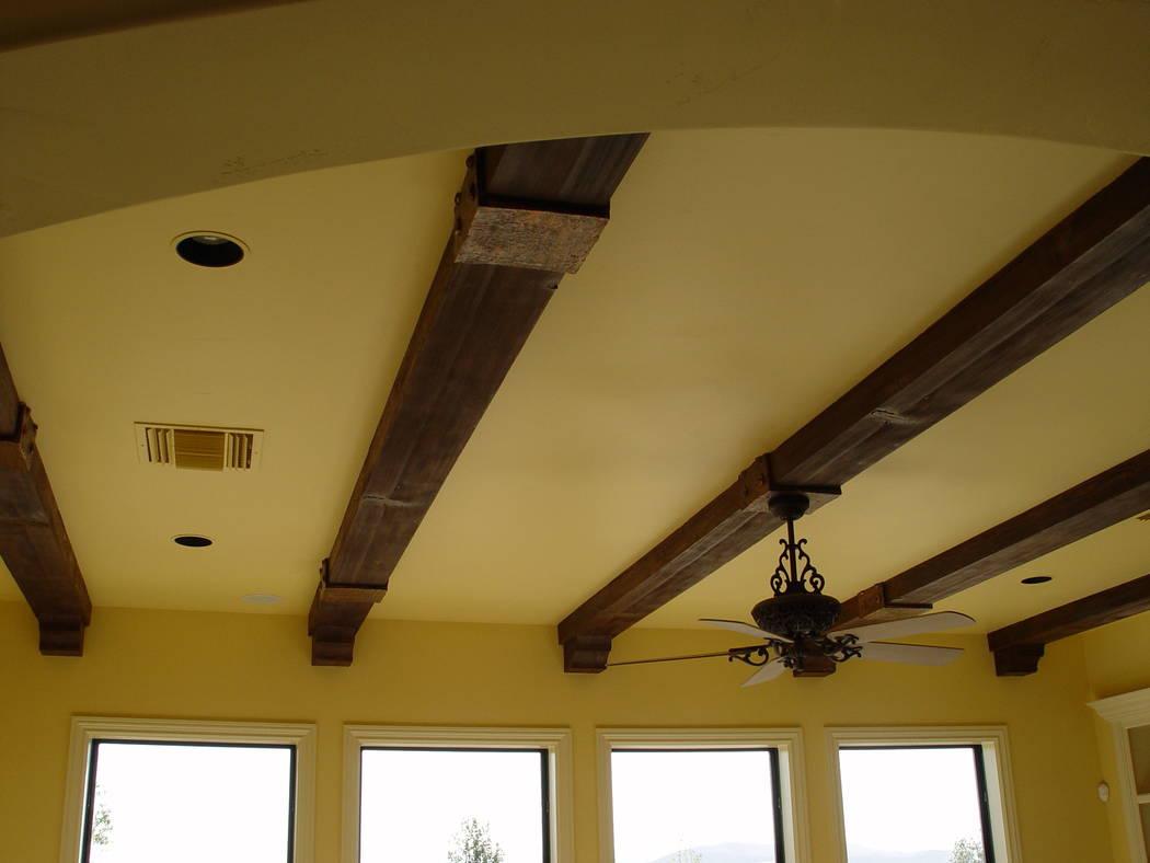 Exposed Beams Transform Boring Ceilings