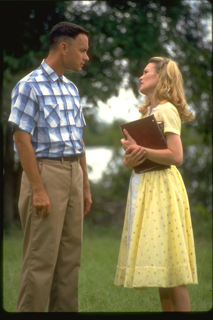 "Robin Wright Forrest Gump : robin, wright, forrest, Hanks, Robin, Wright, ""Forrest, Gump."", (Paramount, Pictures), Vegas, Review-Journal"