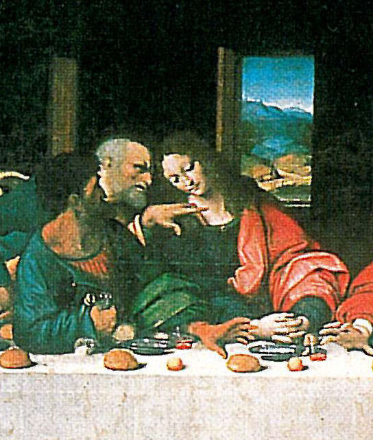Judas was also first to leave