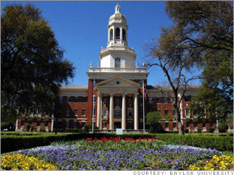 Baylor balances religion and academics