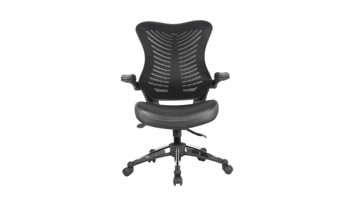 office chair review finn juhl chieftain factor black executive ergonomic reviewnetwork com