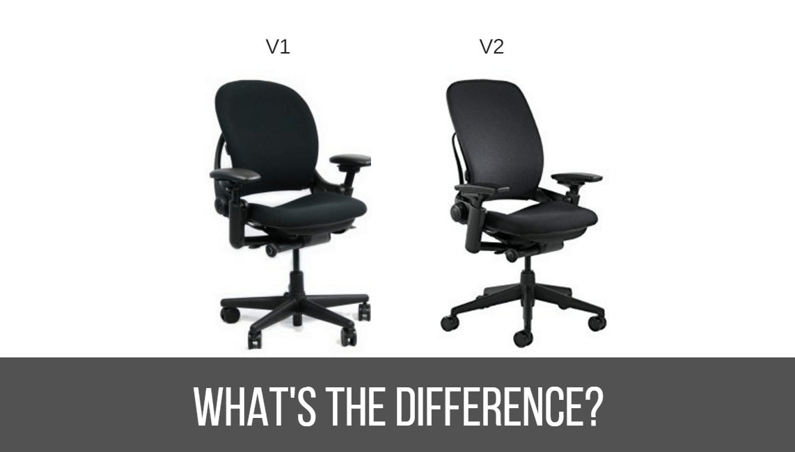 leap chair v2 vs v1 extra wide recliner what is the difference between steelcase and reviewnetwork com