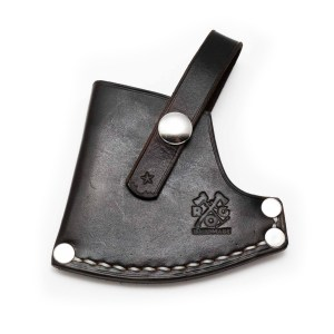 "Estwing Sportsman's Axe - 14"" Custom Leather Sheath"