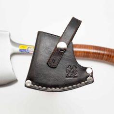 "Estwing Sportsman's Axe - 14"" Custom Leather Sheath"