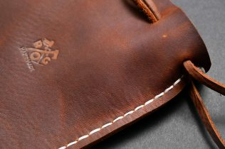 Handmade Rustic Leather Multipurpose Pouch-08