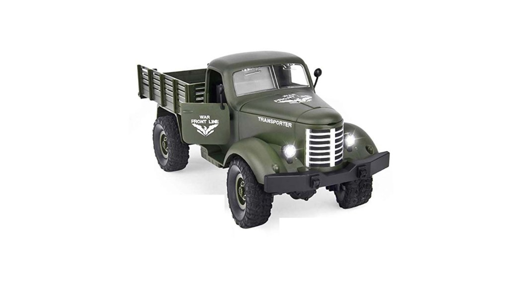 Rainbrace RC Military Truck