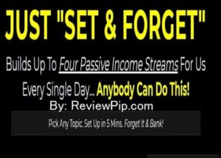Set & Forget Review - A Passive Income Breakthrough
