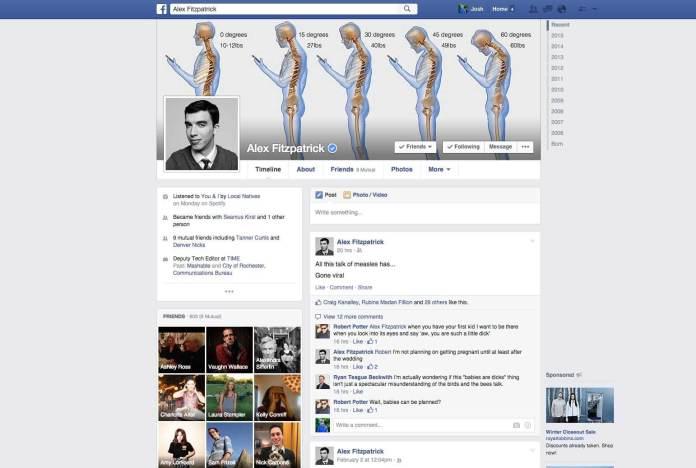 Evolution of Facebook 12