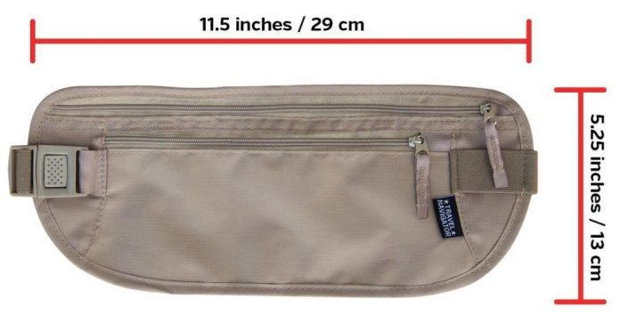Best Money Belt, Passport Holder and Wallet with RFID Blocking 2