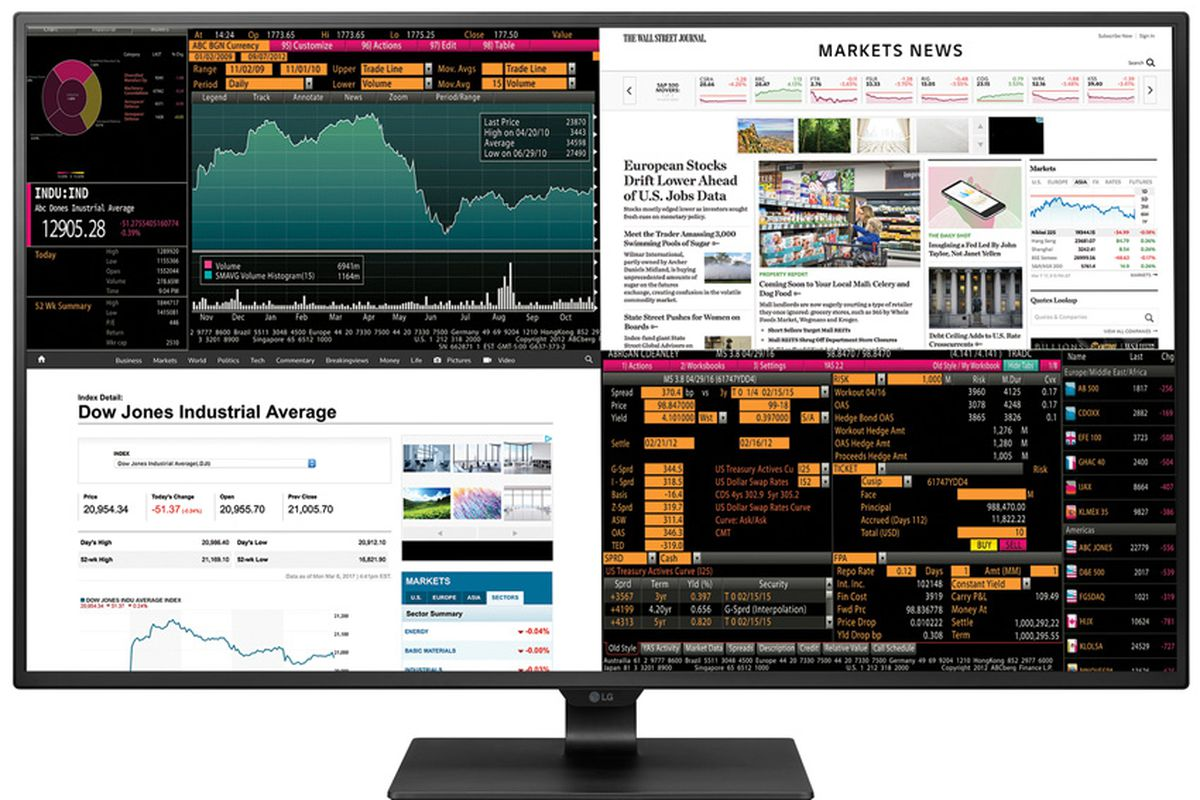 Largest Computer Monitor from LG 42.5″