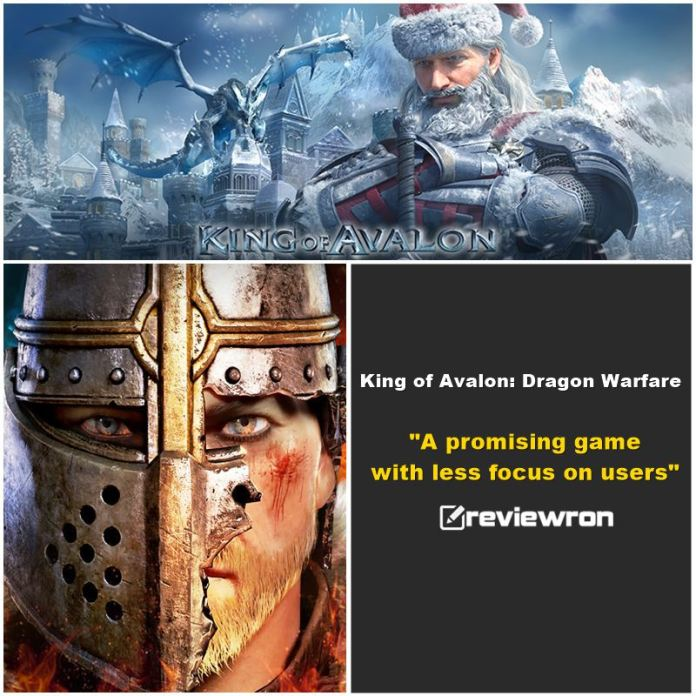 King of Avalon: Dragon Warfare Android Game Review 1