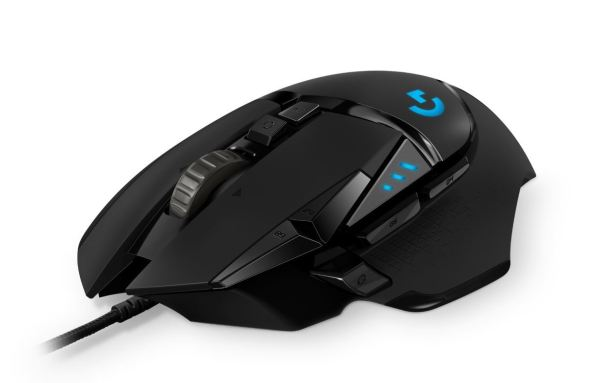 01. Logitech G502 HERO High-Performance Gaming Mouse