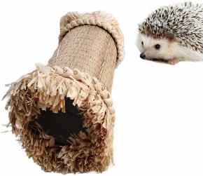 Oncpcare Hedgehog Hideaway Tunnel Pet Toy