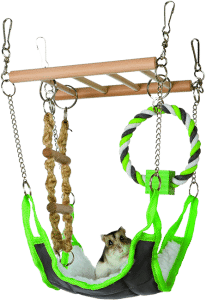 Trixie Pet Products Cuddly Suspension green Bridge 206x300 1 best toys for sugar gliders