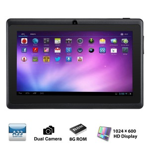Alldaymall A88X 7 inch Tablet PC Quad Core Google Android 4.4
