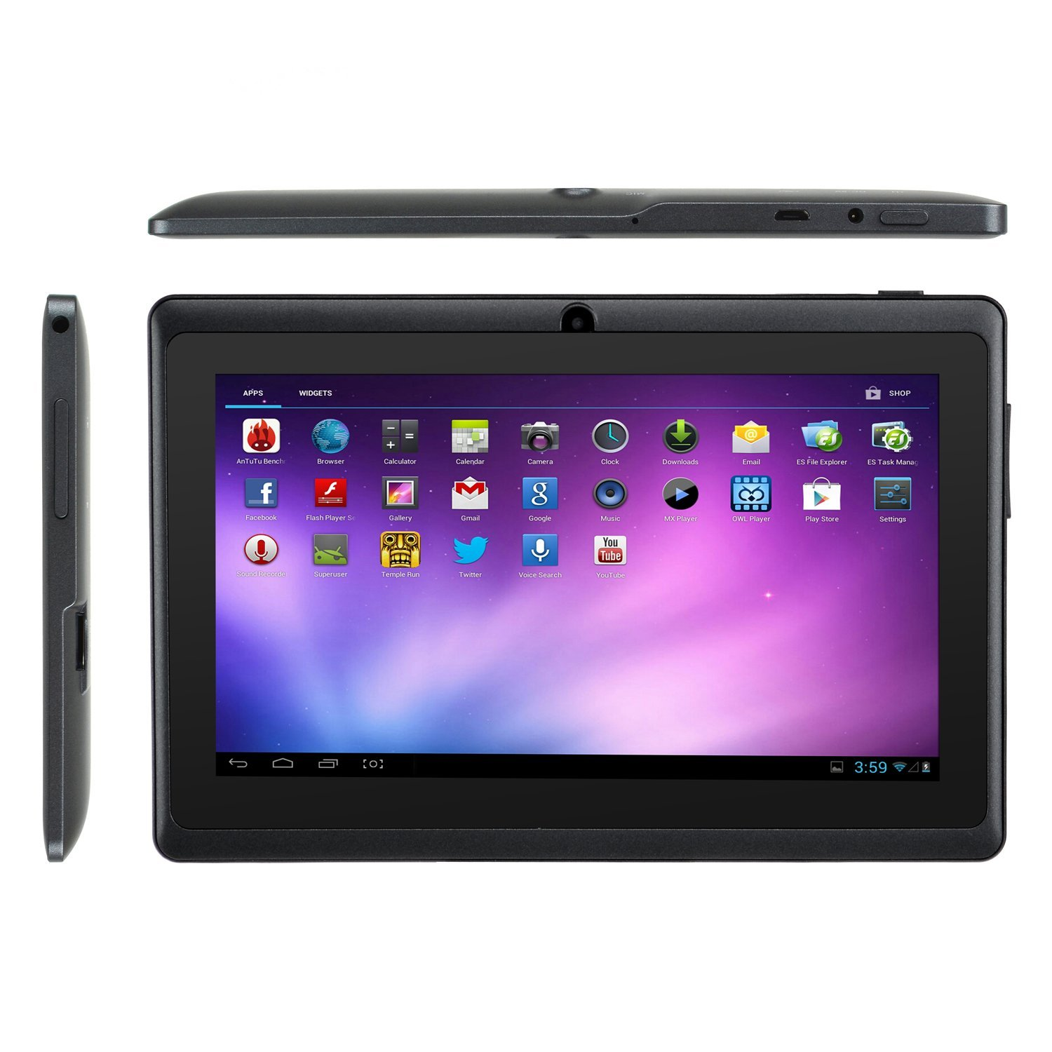Soft Gold mid 7 inch pc tablet reviews same