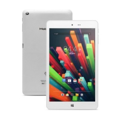 MobiTab V1 8 inch Tablet Quad Core Dual System Windows 8.1 and Android 4.4