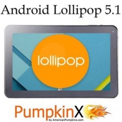 PumpkinX Octa Core Tablet 10.1 inch 32GB A83T Android Lollipop 5.1, 1GB RAM, 8-Core GPU, HD 1024x600